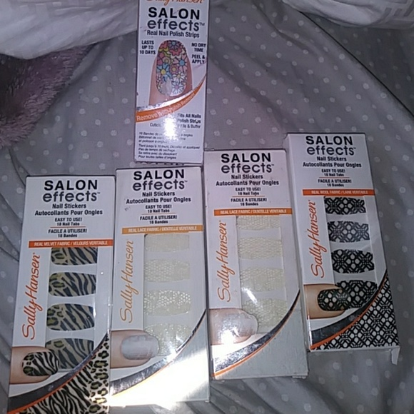 Sally Hansen Nail Art Stickers Bundle | Poshmark